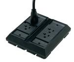 Commscope 554192-1   Undercarpet DCR Kit, 3-conductor, double duplex, black