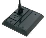 Commscope 554142-1   Undercarpet DCR Kit, 3-conductor, single duplex, with dual voice/data ports, black