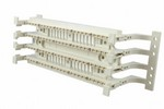 Commscope 558842-1   110Connect XC System Cross-Connect Wiring Block with Legs, 100-pair, Category 5e, .110 punch down