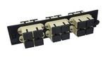 Commscope 559596-1   Fiber Optic Adapter Pack, multimode, SC, duplex, 12-port, beige