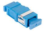 Commscope SFA-SC01-BL-FLANGELESS | TeraSPEED SC Simplex Flangeless Adapter, Blue, Single Pack