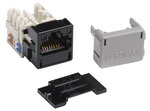 Commscope MGS400-003   GigaSPEED XL MGS400 Series Category 6 U/UTP Information Outlet, black