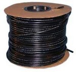 Commscope AE01K-D0840-500 | Polyethylene Tube, black, 3/8 in OD x 1/16 in wall x 500 ft (152.4 m) roll