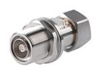 Commscope APG-BDFDM-350 | Arrestor Plus Gas Tube Surge Arrestor (350 V), 45–2200 MHz, with interface types DIN Female Bulkhead and DIN Male