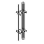 Commscope BC-35-14 | Pipe-to-Pipe Clamp, heavy duty, joins two 2-3/8 in to 5 in OD