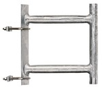 Commscope DB5007 | UHF Side Mounting Kit for 3 in (76.2 mm) OD round members. Bottom brace only.