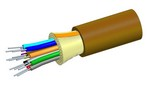 Commscope R024DS5KFSUBR   LazrSPEED Riser Distribution Cable, 24 fiber single-unit