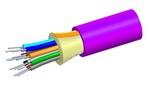 Commscope P002DS5LFSUVI   LazrSPEED Plenum Distribution Cable, 2 fiber single-unit