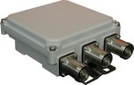 Commscope E11F01P27 | Wideband Triplexer LTE800-900/1800-UMTS/WIFI-LTE, dc bypass on all ports