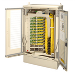 Commscope FD3-AE288J00JBBP2   FDH 3000 Small Fiber Distribution Cabinet, 288F, SC/APC, no splitters, dielectric loose tube, 100 ft, 24F