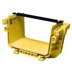 Commscope FGS-MFAW-B | FiberGuide Snap-Fit Junction Kit, 4x6in, Yellow