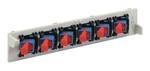 Commscope FL2-6PSMSC   FL2000 Fiber Optic Adapter-pack, singlemode, 6 SC/UPC simplex adapters