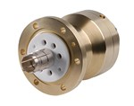 Commscope H8MB-302 | 3-1/8 in EIA Male Flange with gas barrier for 3 in HJ8-50B air dielectric cable