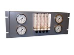 Commscope LM400-M | 4-port Medium-pressure Line Monitor, 19 in rack/wall mountable, 0–5.0 psig, 25 ft of tubing per port