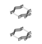 Commscope MS-SB50 | Adapter Clamp Set, 4 in to 9 in OD