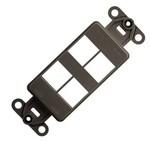 Commscope 1479504-2   Mounting Strap, 4-ports, black