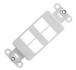 Commscope 1479504-4   Mounting Strap, 4-ports, nema gray