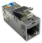 Commscope USL600-SHLD, GY   Uniprise SLX Series Modular Jack, category 6, shielded , 4 Pair, without dust cover, gray