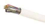 Commscope 2010B WH 25/24 R1000 | 2010B Category 3 U/UTP Cable, plenum, white jacket, 25 pair count, 1000 ft (305 m) length, reel