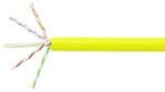Commscope 2091B-UTG YEL C6A 4/23 U/UTP W1000 | GigaSPEED X10D 2091B-UTG ETL Verified Category 6A U/UTP Cable, yellow jacket, 4 pair count, 1000 ft (305 m) length, WE TOTE box