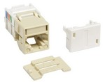 Commscope M1AH-246 MODULE | M1 Modular 6 Conductor Telecommunications Outlet, ivory