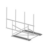 Commscope RF-N12-4-126 | Non-Penetrating Roof Frame, 12 ft face, four 2-3/8 in OD x 126 in pipes