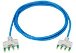 Commscope TP6TH-BL07   Ultim8 Copper Patch Cord, 4-pair-to-4-pair, category 6, blue, 7 ft