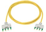 Commscope TP6TH-YL07   Ultim8 Copper Patch Cord, 4-pair-to-4-pair, category 6, yellow, 7 ft