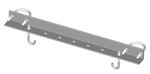 Commscope WB-CS24-3 | Safety Grated Channel Support, 24 in wide for 3-1/2 in OD pipe