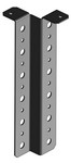 Commscope ZB-V12 | Vertical Z-bracket, 4.3 in, for 12 coaxial cable runs