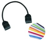 Commscope CPC5512-03F018   GigaSPEED XL VisiPatch to VisiPatch 4 Pair Patch Cord   Jacket Color - Dark Gray, Cord Length - 18 Ft