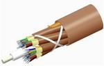 Commscope P072DS8WFMUBR   TeraSPEED Plenum Distribution Cable, 72 fiber multi-unit with 12 fiber subunits