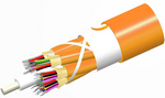 Commscope R048DS6FFMUOR   OptiSPEED Riser Distribution Cable 48-Fiber Multi-Unit with 12-Fiber Subunits