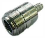 Commscope 240APNF-CR | Type N Female for CNT-240 braided cable