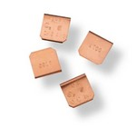 Commscope 553534-1 | Undercarpet Top Shield Bonding Clip, package of 50, copper