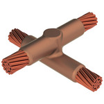 Erico XBV3Q2GM - GROUNDING - CADWELD MOLD, CABLE, HORZ