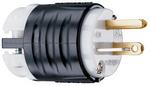 Legrand PS5366-X | Pass and Seymour | 20A, 125V Extra-Hard Use Spec-Grade Plug, Black & White