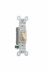 Legrand 660-IG | Pass and Seymour | TradeMaster Grounding Toggle Switch, Ivory