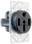 Legrand 3894 | Pass and Seymour | Power Outlets, Straight Blade Receptacle 50amp 125/250volt 3pole 4wire