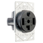 Legrand 3864 | Pass and Seymour | Power Outlets, Straight Blade Receptacle 30amp 125/250v