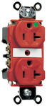 Legrand 8300-RED | Pass and Seymour | Extra Heavy-Duty Hospital Grade Receptacles, Back & Side Wire, 20A, 125V, Red