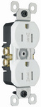 Legrand 3232-TRWRW | Pass and Seymour | 15A/125V Weather-Resistant Duplex Receptacle, White
