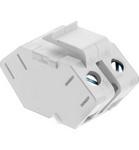 Legrand ACSSIW1 | Adorne Collection | Adorne Single Keystone Speaker Connector, White