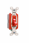 Legrand PS20AC1-RED | Pass and Seymour | Industrial Extra Heavy-Duty Specification Grade Switch, Red