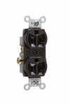 Legrand CR20-BK | Pass and Seymour | Commercial Spec Grade Receptacle, Side Wire, 20A, 125V, Black