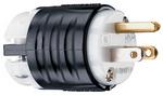 Legrand PS5266-X | Pass and Seymour | 15A, 125V Extra-Hard Use Spec-Grade Plug, White Face, Black