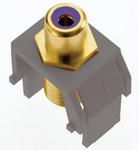 Legrand ACPRCAFM1 | Adorne Collection | Adorne Subwoofer RCA to F-Connector, Magnesium