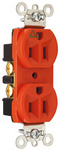 Legrand IG5262 | Pass and Seymour | Isolated Ground Heavy-Duty Spec Grade Receptacles, Back & Side Wire, 15A, 125V, Orange