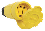 Legrand 15W47 | Pass and Seymour | 15A, 125V Watertight Connector, Yellow
