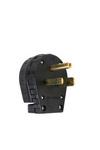 Legrand 3869 | Miscellaneous Configurations - Angled Plug, Black